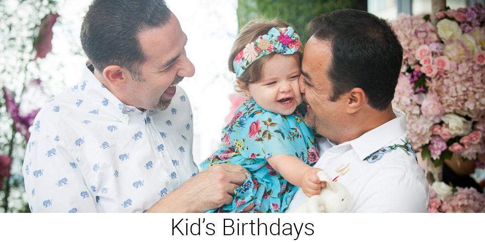 Kid's Birthdays - Special Event Photographer